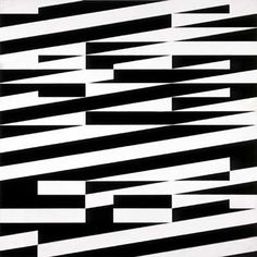 Jesús Rafael Soto, Parallèlles interférentes 1952 120 x 120 x 6 cm Op Art, Black White Pattern, Black And White Design, Abstract Geometric Art, Abstract Pattern, Victor Vasarely, Textile Patterns, Print Patterns, Dazzle Camouflage