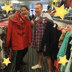 Our store manager Matt and buyer Jeanette sure do love a good sale! & who wouldn't when our clearance is by 1 at 50% off 2 for 60% off and 3 or more for 75% off! The more you buy the better the deal! Come shop for those essential fall items and save big!  #clearance#sale#come#get#fall#clothes#get#more#save#more#greatdeals#fall2016#platoscloset#platosclosetlincolnpark#instadaily#instagood#instagram#employee#look#at #those#beautiful#faces#winners http://ift.tt/2dnhaXF - http://ift.tt/1HQJd81