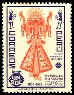 carlopeto's Stamps -1935  PERU CIVILIZACIONES
