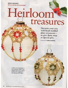 Heirloom Treasures Ornament (1 of 3)