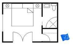 Best Master Bedroom 12X16 Floor Plan With 6X8 Bath And Walk In 400 x 300