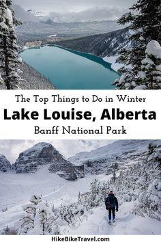 Top things to do in Lake Louise in winter #LakeLouise #BanffNationalPark #winterfun #Skating #skiing #dining #icewalk