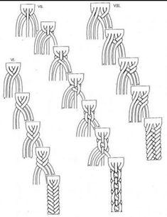 Free crochet patterns and video tutorials: How to crochet easy woven scarf, cowl. Free crochet patterns and video tutorials: How to crochet easy woven scarf, cowl. Easy Crochet, Free Crochet, Irish Crochet, Crochet Braids, Crochet Lace, Diy Jewelry, Jewelry Making, Hemp Jewelry, Jewellery