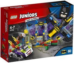 Buy LEGO Juniors 10753 The Joker Batcave Attack Batman and Robin from our Construction Toys range at John Lewis & Partners. Figurines D'action, Marvel Dc, Lego Marvel, Lego Junior Sets, Lego Sets, Lego Duplo, Figurine Batman, Boutique Lego, Lego Dc Comics