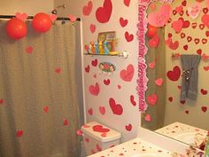 I love what these grandparents did for their grandkids for Valentines.  So fun!  I might copy them on a smaller scale.