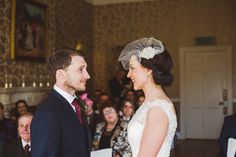 Bride and groom from a 1940's Inspired Elegant Autumn Wedding in the Cotswolds | Photography by http://www.evedunlopphotography.co.uk/#sthash.bv0w57P8.dpbs