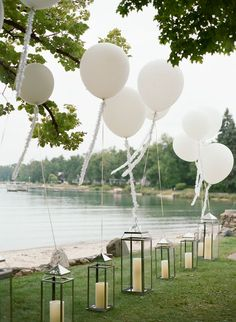 A Fun-Filled Wedding Weekend in Northern Michigan - wedding ideas - Classic Wedding Hair, Perfect Wedding, Hair Wedding, Deco Baby Shower, Summer Wedding Decorations, Summer Weddings, Summer Wedding Ideas, Ceremony Decorations, Photos Booth