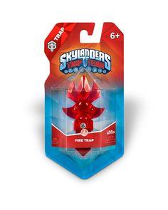 Skylanders Trap Team Fire Element Trap Pack