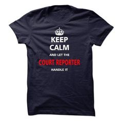 Let the COURT REPORTER T Shirts, Hoodies Sweatshirts. Check price ==► http://store.customtshirts.xyz/go.php?u=https://www.sunfrog.com/LifeStyle/Let-the-COURT-REPORTER-21442420-Guys.html?41382