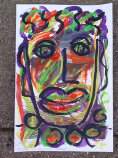 """""""A FACE IN THE CROWD"""" By Royston du Maurier-Lebek 2016"""