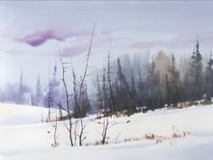 Coming Soon!  Sterling Edwards is back soon with ArtistsNetwork.tv to teach you Brushwork Techniques for Expressive Watercolor. In this video workshop, Sterling shares exercises on best uses and application techniques for flat, round and bristle brushes. Then follow along as Sterling uses all three types of brushes to complete a snowy landscape study from start to finish.