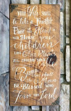 Wood Signs Home Decor Prepossessing Handwritten Rustic Wood Sign  Wedding Sign  Anniversary Design Ideas