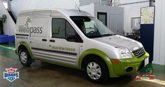 Webpass  #prowraps #vehiclewraps #fleetwraps