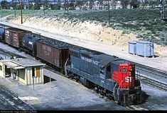 RailPictures.Net Photo: SP 1512 Southern Pacific Railroad EMD SD7 at Bloomington, California by Craig Walker