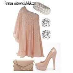 Cute evening outfit.