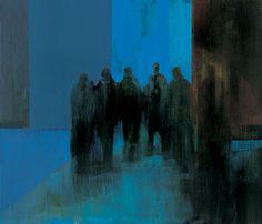Kenneth Blom · BESATT · 2002 · 140 x 160 cm