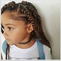 103 Adorable Braid Hairstyles for Kids  #hairstyles #braidedhair #braided #hair #fashion