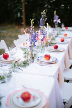 An Intimate Vintage Boho Wedding via TheELD.com