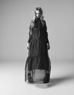 Photoshoot in iD Magazine (pre-Spring 2013) > ... - mlle ghoul's fairy tales from the shadows