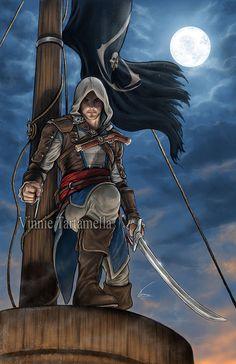 Edward Kenway by VinRoc.deviantart.com #AssassinsCreed