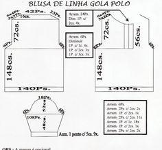 Blusa de Linha Gola Polo