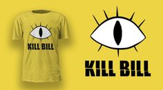 Kill Bill t-shirt is now live on...