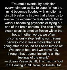 PTSD, betrayal causes trauma, betrayal IS trauma.