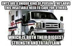 EMS You have to be a little crazy to be an EMT or Paramedic but that's the good part Paramedic Humor, Ems Humor, Firefighter Paramedic, Volunteer Firefighter, Medical Humor, Nurse Humor, Emt Memes, Paramedic Student, Funny Medical