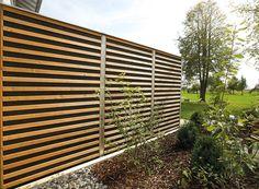 Schallschutz, Lärmschutz reflektierend oder absorbierend in Holz, Kiefer, Lärche - Limes für Ballungszentren, öffentlichen und privaten Grund : Braun & Würfele