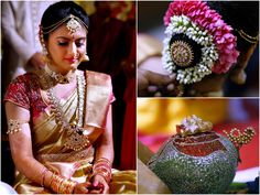 Real bride stories of Pellipoolajada Indian Bridal Hairstyles, Wedding Hairstyles, South Indian Bride, Traditional Sarees, Saree Collection, Bridal Looks, Bridal Makeup, Wedding Couples, Beautiful Bride