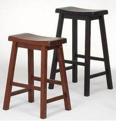 Country Marketplace - Solid Wood Saddle Stools, $59.99 (http://www.countrymarketplaces.com/solid-wood-saddle-stools/)