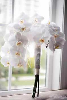 Orchid Bouquet. I probably would do a different color, or a mix of colors but i like the idea