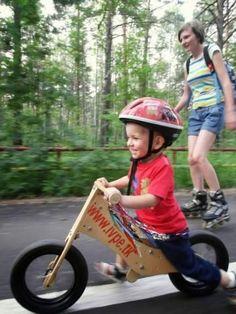 Balance bike #woodworking #bicycle #kids