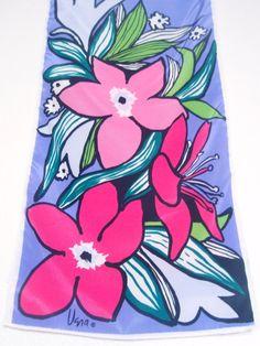 Polynesian Flowers a vintage 1980's Vera Neumann by theluckyfish