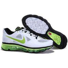 http://www.asneakers4u.com/ 2013 Nike air max mens shoes green white black