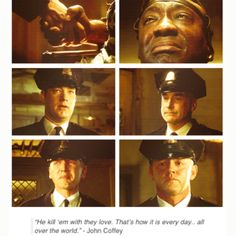 The Green Mile - I have my uncertainties about Tom Hanks but he won me over in this one.