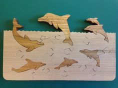 Dolphin Puzzle | applebymakes