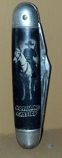 Hopalong Cassidy Pocket Knife