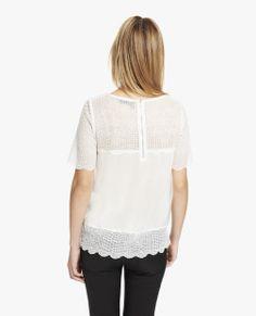 lace shirts on pinterest 709 images on lace shirts black lace shir. Black Bedroom Furniture Sets. Home Design Ideas