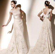 vestido de novia vintage 2012