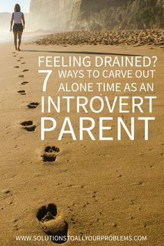 Introvert problems: How to find enough alone time to recharge as an introvert mom. Read on for seven tips...