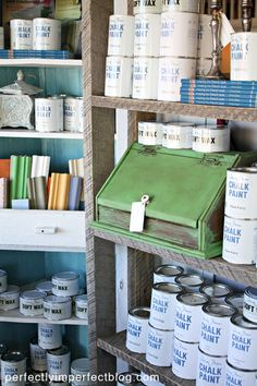 ANNIE SLOAN | CHALK PAINT | CHALK PAINT COLORS | PERFECTLY IMPERFECT