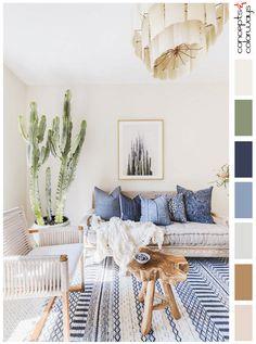 southwestern softness living room colors, living room color schemes, best living room colors, ivory, off white, living room paint colors, pantone coconut milk