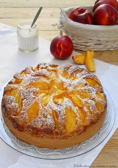 Mini cakes goat-zucchini and ricotta-spinach - Clean Eating Snacks Sweet Recipes, Cake Recipes, Dessert Recipes, Best Italian Recipes, Favorite Recipes, Peach Cake, Torte Cake, Breakfast Cake, Pie Dessert