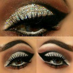 "Cut Crease Creation by samiras_makeup. Such a pretty look using motivescosmetics Glitters in ""Diamond "" sparkles so beautiful. Pretty Makeup, Love Makeup, Makeup Inspo, Makeup Inspiration, Makeup Tips, Beauty Makeup, Hair Makeup, Amazing Makeup, Makeup Ideas"