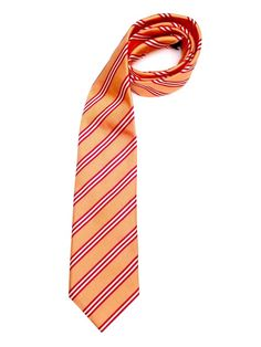 Canali Italy Silk Orange Red White Vertical Diagonal Stripes Neck Tie 3.25 Wide #Canali #NeckTie http://www.ebay.com/itm/Canali-Italy-Silk-Orange-Red-White-Vertical-Diagonal-Stripes-Striped-Neck-Tie-/191520130754?ssPageName=STRK:MESE:IT