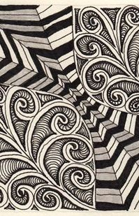 zentangle!  Love this!!