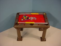 Barbie Doll Monster High Pool Table Game Furniture Ken Man Cave furniture-228E