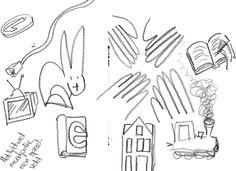 Tijdens het herlezen van de column teken ik de verbeeldbare woorden uit de tekst. Daardoor kwam ik erachter dat de column die Gerrit Komrij schrijft bijna een monopolie spel is. Het gaat over geld en huisjes hier, huisjes daar, beunhazen, treintjes, televisie en muntjes. Kortom genoeg speelgoed om op het monopoliebord te zetten.