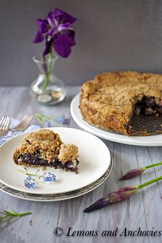 Blueberry Banana Buckle (Crumble) @Jean | Lemons and Anchovies